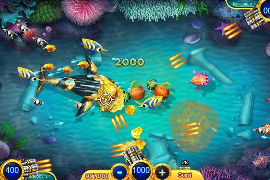 เล่นเกมยิงปลาฟรี