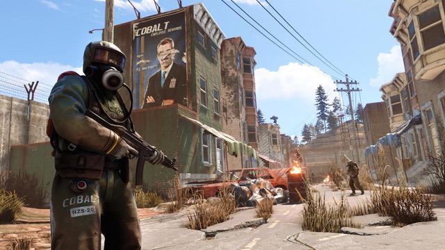 Rust เกมเอาชีวิตรอด แบบผู้เล่นหลายคน