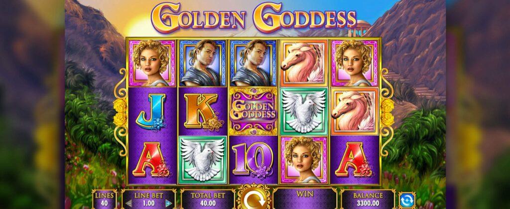 คาสิโนบนเรือสำราญ ต้องคู่กับสล็อตแมตชีน กับเกม Golden Goddess Slot
